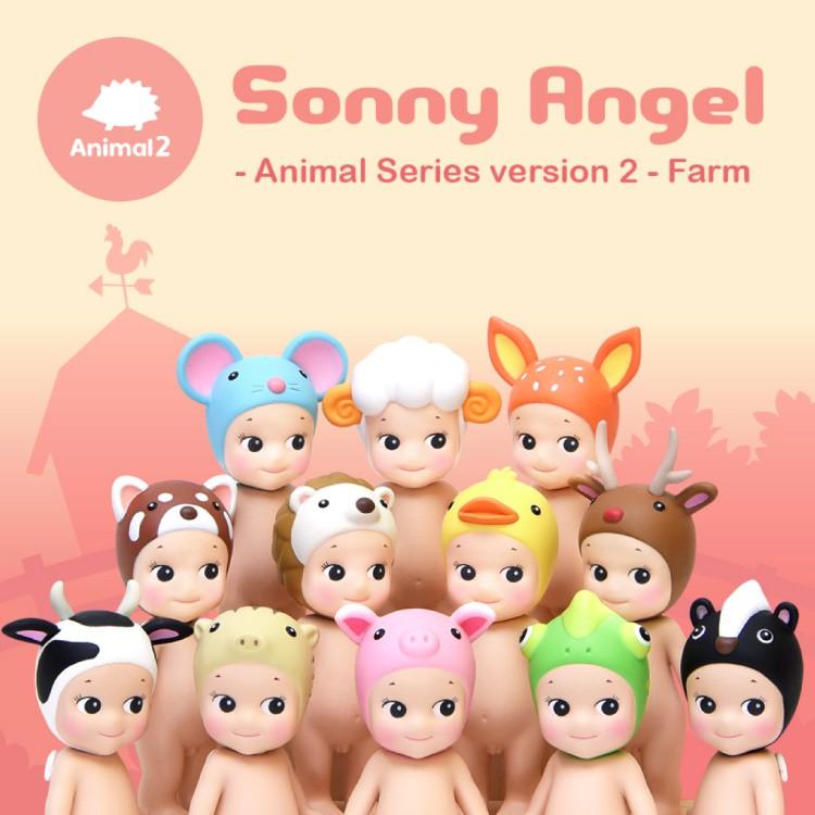 【Sonny Angel】 經典動物系列 Version.2盒玩公仔
