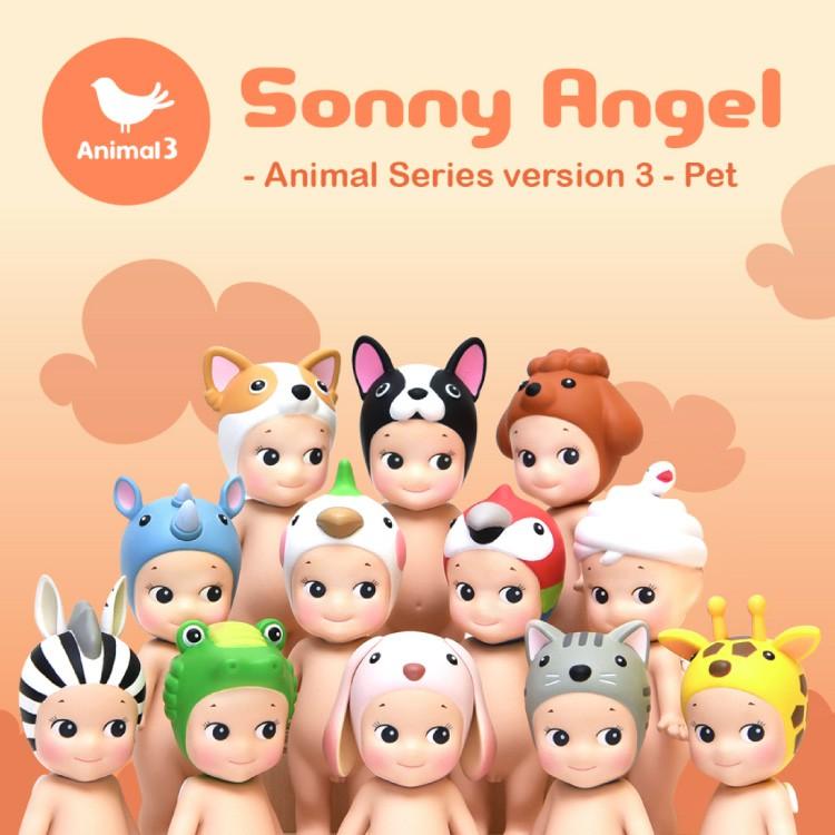 【Sonny Angel】 經典動物系列 Version.3盒玩公仔