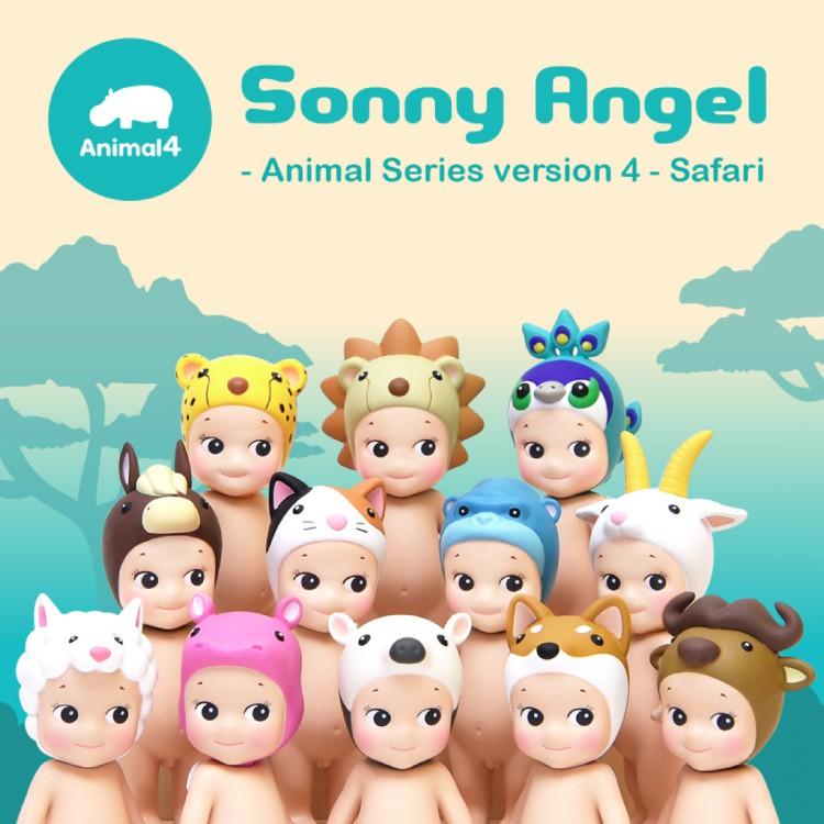 【Sonny Angel】 經典動物系列 Version.4盒玩公仔