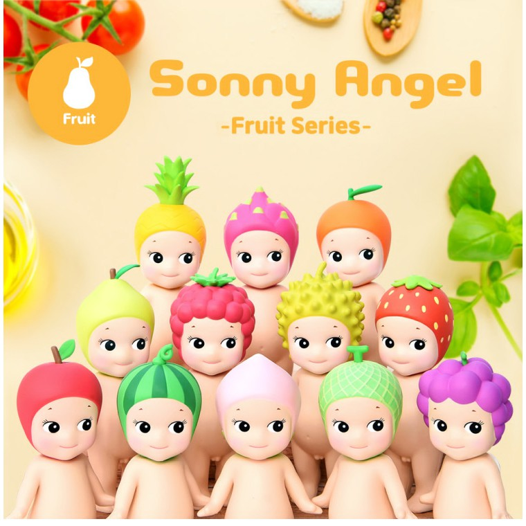 【Sonny Angel】經典水果系列 盒玩公仔
