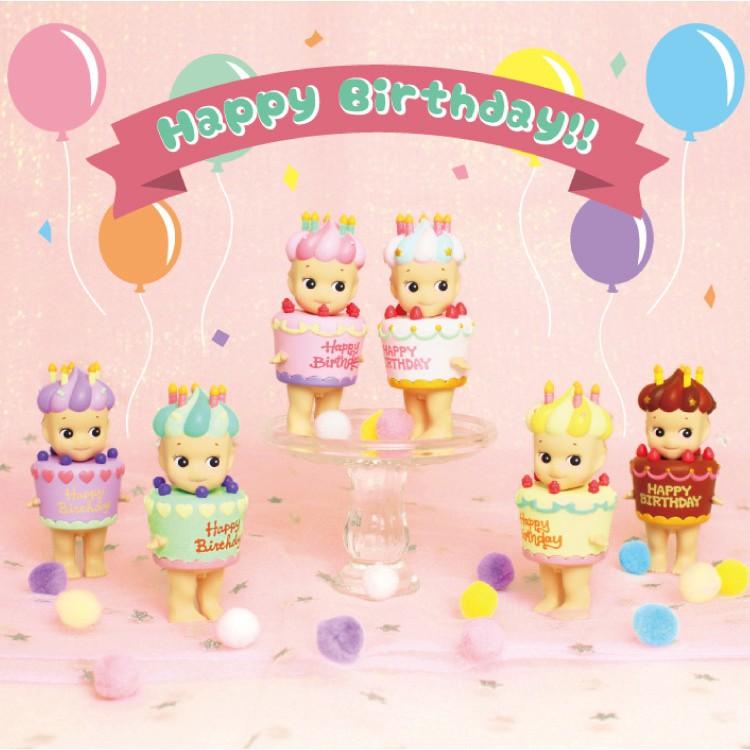 【Sonny Angel】 甜蜜生日蛋糕盒玩公仔