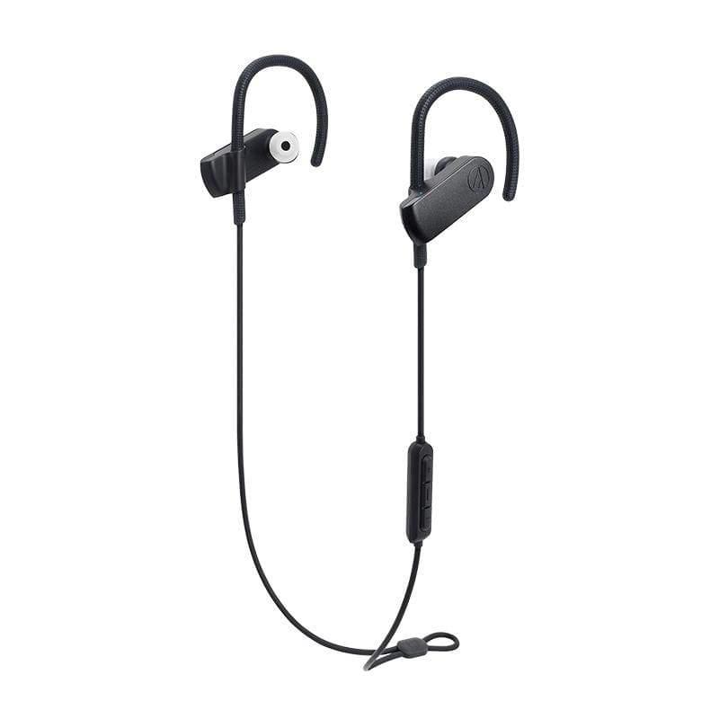 鐵三角|【audio-technica 鐵三角】ATH-SPORT70BT 藍牙無線運動耳機麥克風組(贈鐵三角運動水壺)