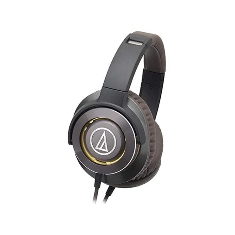 鐵三角|【audio-technica 鐵三角】ATH-WS770 SOLID BASS重低音頭戴型耳罩式耳機 灰