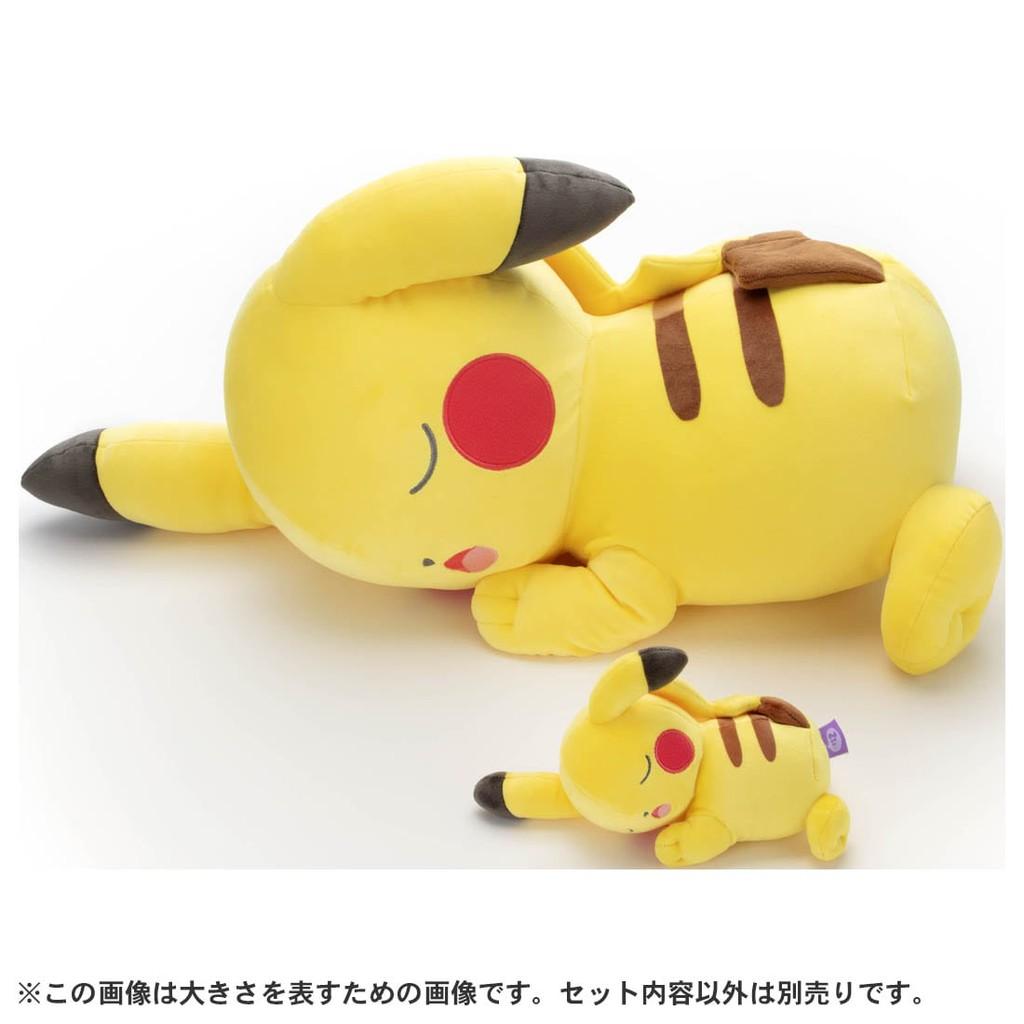寶可夢超巨大睡覺好朋友-皮卡丘