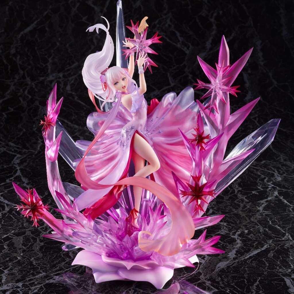 1/7 Re:從零開始的異世界生活 冰結的愛蜜莉雅 水晶禮服