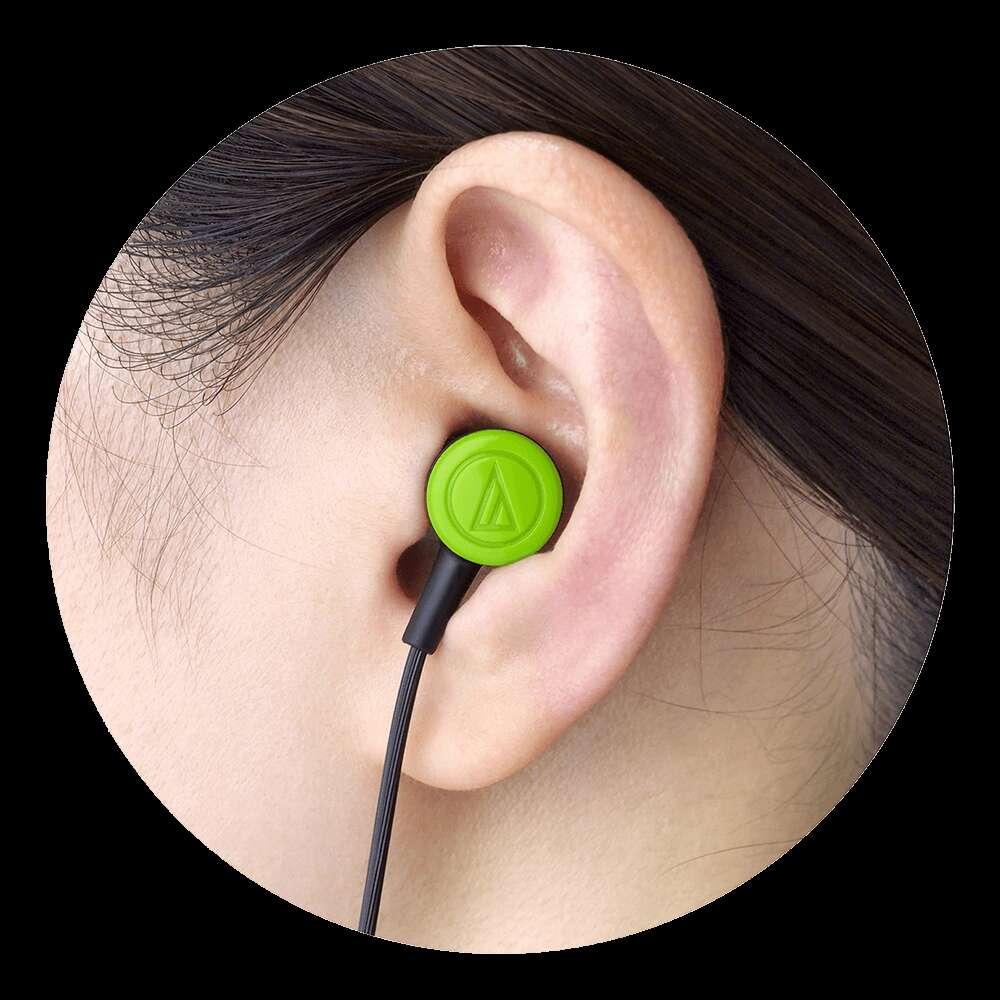鐵三角 【audio-technica 鐵三角】ATH-CKL220 耳塞式耳機-狂熱白