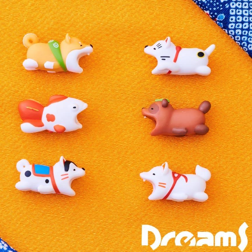 DREAMS|Dreams iphone專用咬線器 慵懶動物園之和風系列 福金魚