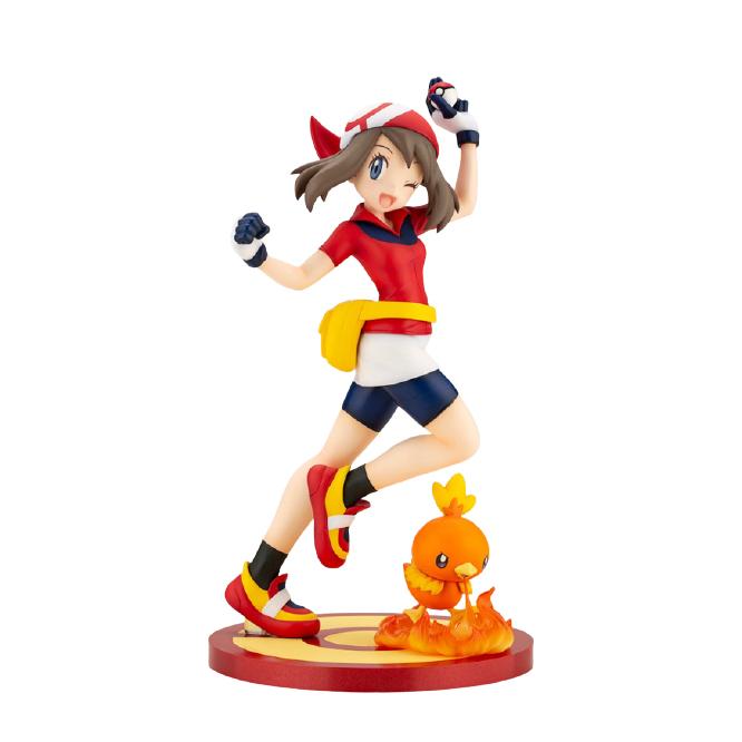 壽屋|1/8 ARTFX J 精靈寶可夢Pokémon 小遙 & 火雉雞 PVC