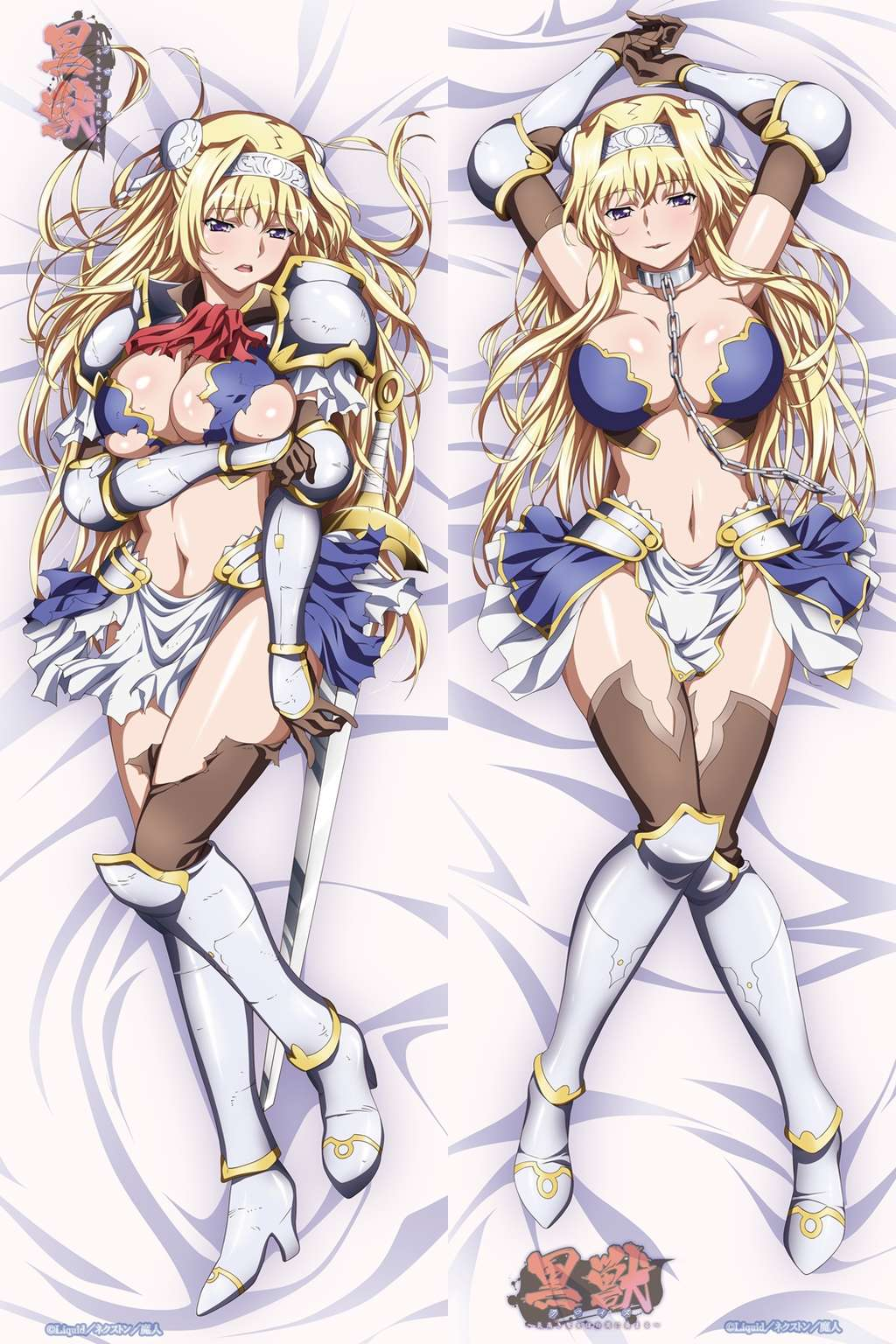 黑獸----艾麗西婭 女騎士 動漫抱枕 等身抱枕 枕頭【不含枕心 多種規格】