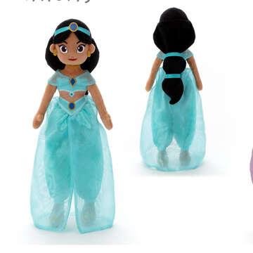 takaratomy|迪士尼公主抱抱好朋友-茉莉公主