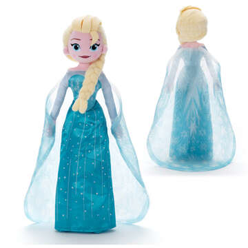 takaratomy 冰雪奇緣抱抱好朋友-艾莎  安娜