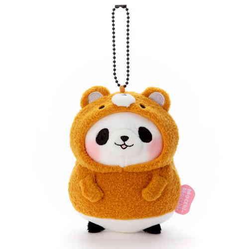 takaratomy|客人傷腦筋吊飾-熊貓