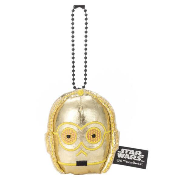 takaratomy|絨毛吊飾-C-3PO