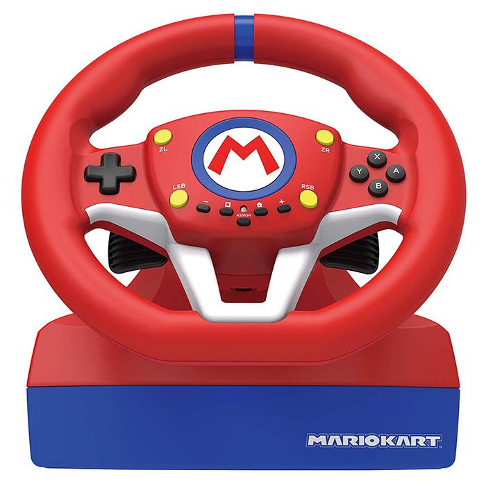 【NS周邊】Nintendo Switch 瑪利歐賽車 專用方向盤《HORI(NSW-204A)》