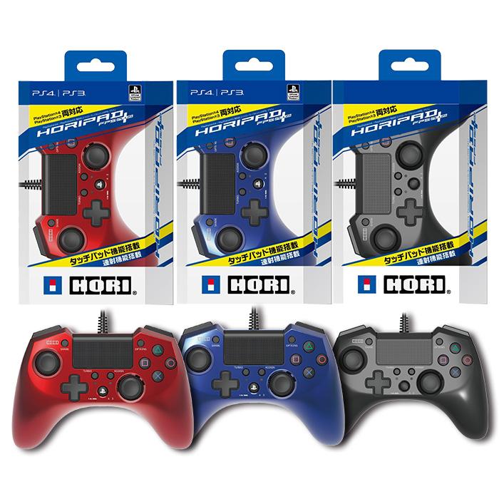 【周邊PS4】HORIPAD FPS PLUS 有線控制器《HORI (PS4-026藍色)》