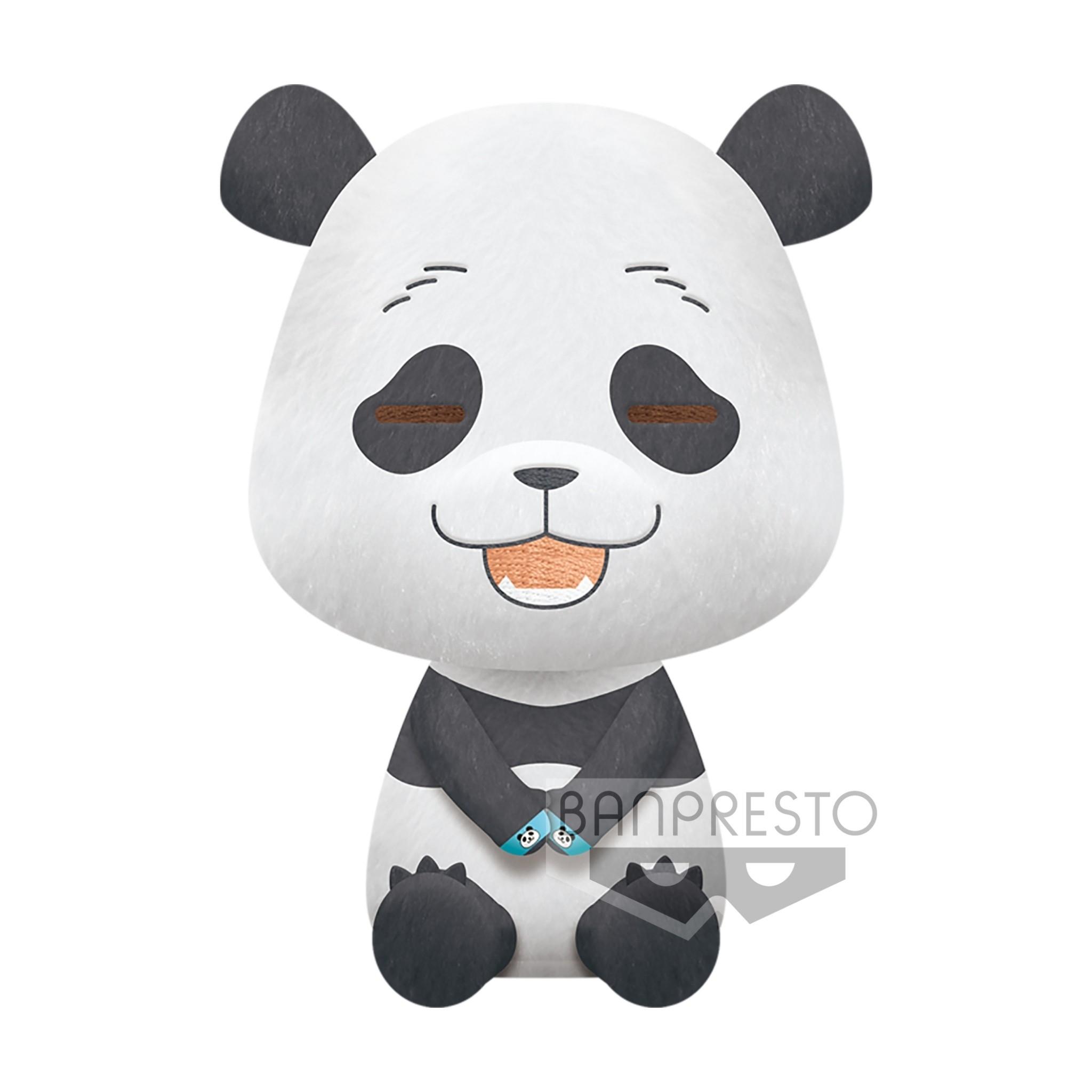 BANPRESTO|咒術迴戰 坐姿絨毛大玩偶 貓熊.七海建人 (A:貓熊)