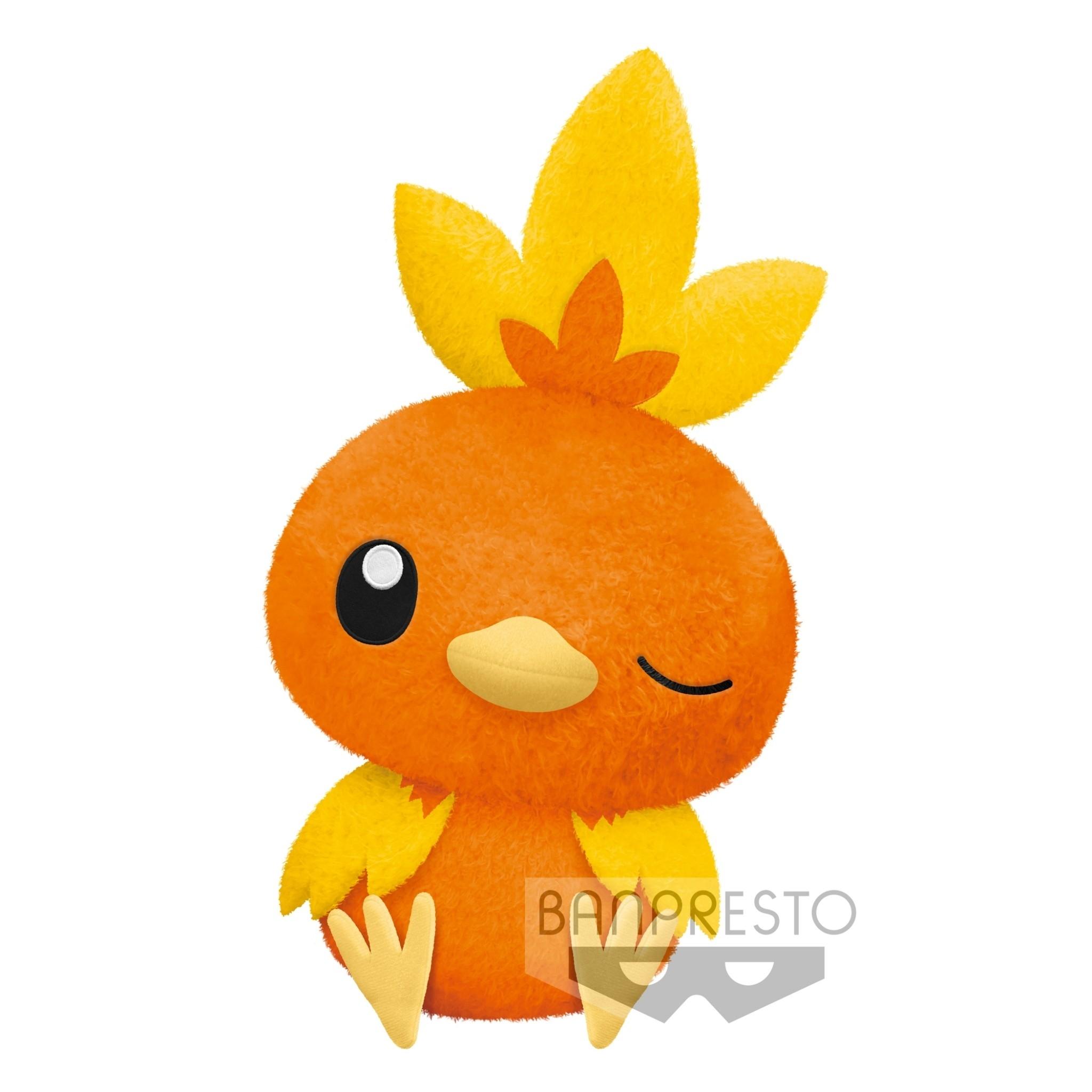 BANPRESTO|精靈寶可夢 休息時間超大絨毛玩偶 火稚雞